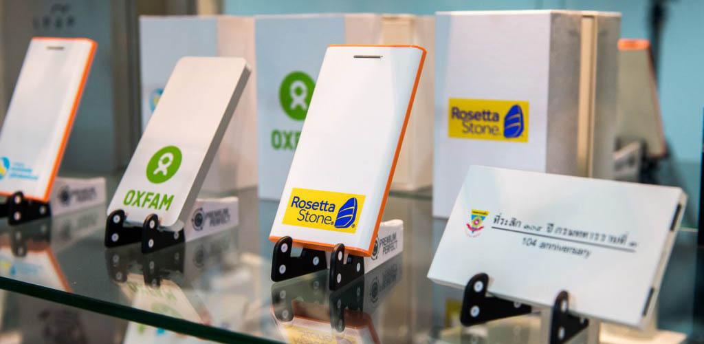 โรงงานผลิต Power Bank แบตสำรอง พาวเวอร์แบงค์พรีเมี่ยม สกรีนโลโก้ ราคาถูก ผลิตด่วน